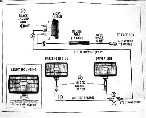 wiring auxiliary lights medium duty work truck info truck jeep accessories truck