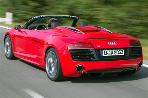 audi supercar convertible used 2015 audi r8 convertible pricing for sale edmunds