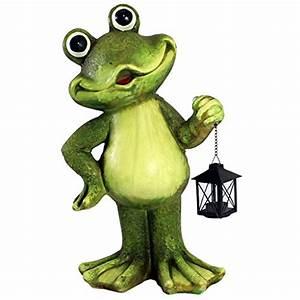 gartenfigur frosch vergleich und kaufberatung 2018 die With französischer balkon mit deko frosch für garten