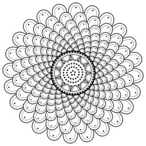 printable coloring pages color  mandala