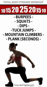 Total Body Pyramid Workout At Home