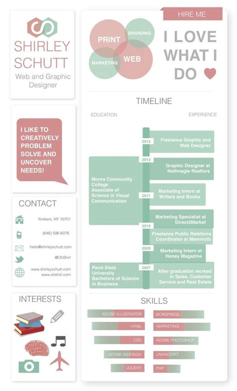 Infographic Resume Generator Free by 25 Best Ideas About Infographic Resume On Cv