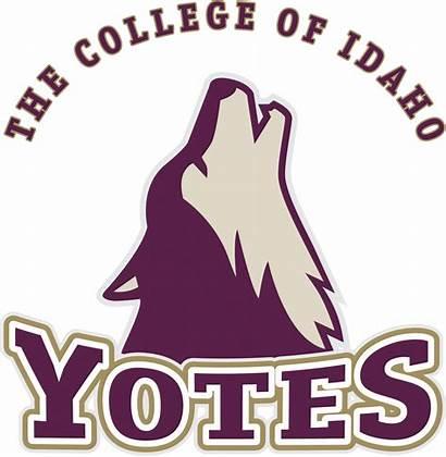 Idaho College University Logos Sports Caldwell Team