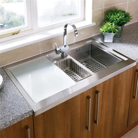 stainless steel kitchen sink with drainboard design exclusive stainless steel sink with drainboard home