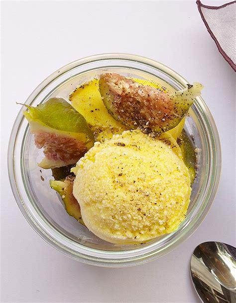 cuisine glace yaourt glacé au curcuma et au poivre pour 4 personnes