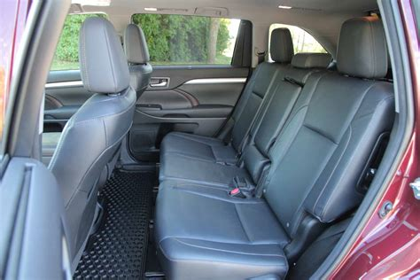 100 toyota highlander rear captains chairs