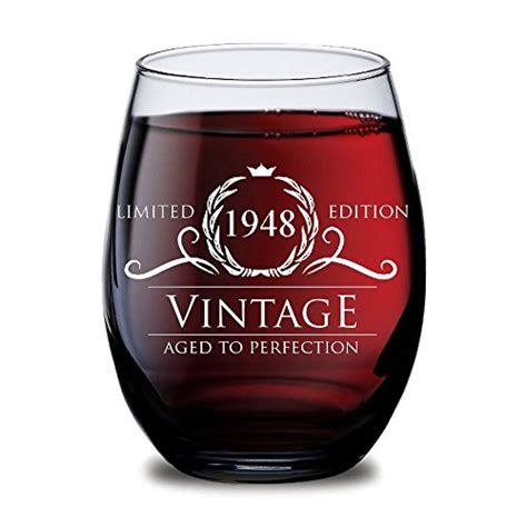 Th Birthday Gifts For Women And Men Wine Gl