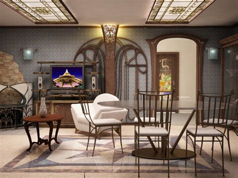 Art Nouveau In Interior Design