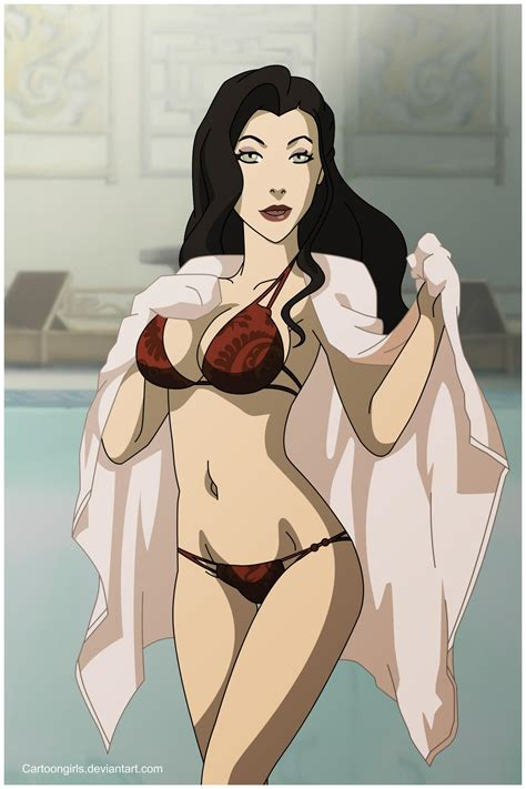 asami at the pool avatar the last airbender the legend of korra know your meme