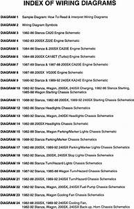 199nissan 240sx Electrical Wiring Diagrams