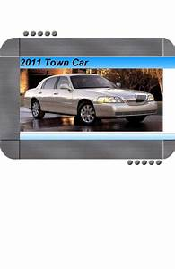 Lincoln Town Car 2011 Factory Service  U0026 Shop Manual