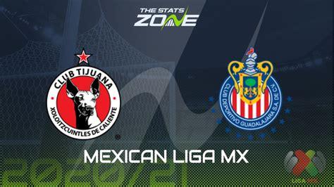 2020-21 Mexican Liga MX – Tijuana vs Guadalajara Preview ...
