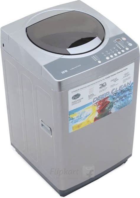 IFB 6.5 kg Fully Automatic Top Load Washing Machine Silver