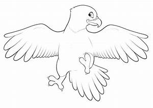 Cute Baby Eagle Coloring Pages   Coloring pages, Animal ...