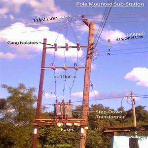 Practical Pole Mounted Substation Construction