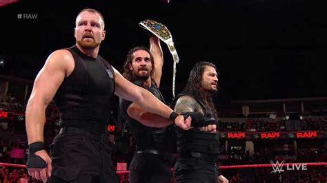 wwe raw results   shield raw tag titles