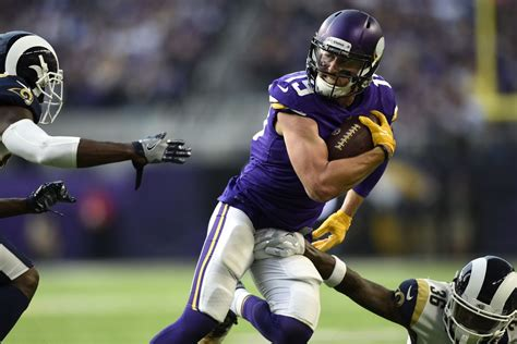adam thielen silenced  ramsand  doubters  ringer