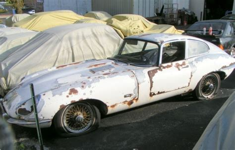 E Type Jaguars For Sale by Classic Jaguar E Type Abducted Rescued Then Ignored