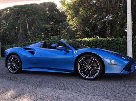 24 months 36 months 48 months 60 months 72 months 84 months 96 months. Used 2017 Ferrari 488 Spider Convertible 2D For Sale ($284,997)   Track and Field Motors Stock ...