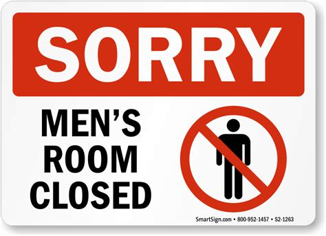 What Is A Wet Room Bathroom by Restroom Closed For Cleaning Signs