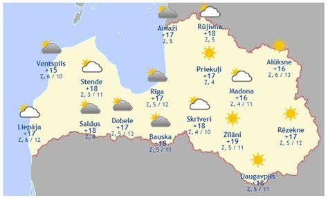 Laika prognoze šodienai, 19. maijam - Aktuāli - epadomi.lv