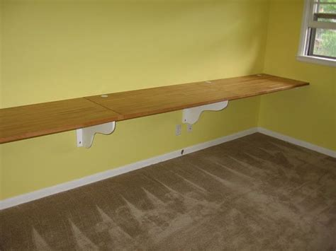 countertop desk for office how to build a wall mounted desk home sweet apartment