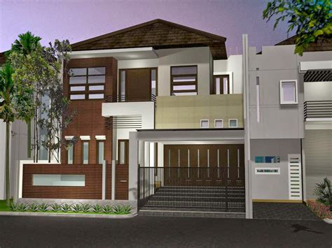 desain rumah lantai modern renovasi rumahnet