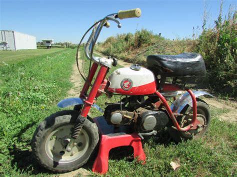 honda mini trail  dirt bike classic vintage barn find