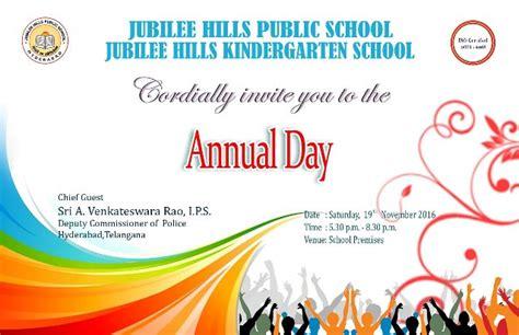 Jubileehills Public School Notice Board