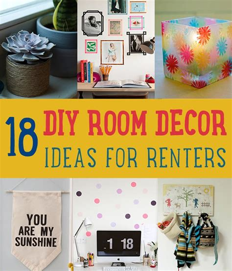 projects for bedroom decor 18 diy room decor ideas for crafters diy ready Diy