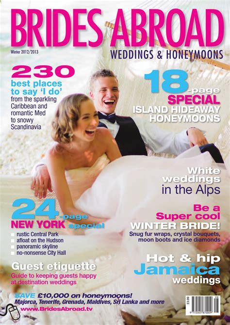 Brides Abroad Winter 2012 13 by Joint Venture Media Issuu