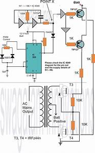 How To Make A Homemade 2000 Va Power Inverter Circuit