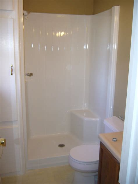 Tub In Shower - ace resurfacing tub and shower photos
