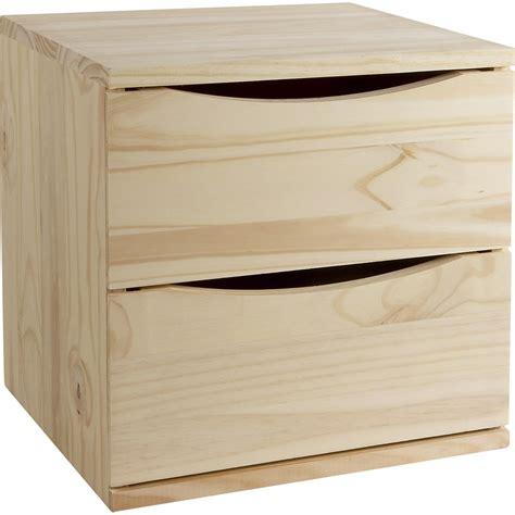bloc tiroir cuisine bloc tiroir pin l 36 x p 30 x h 36 cm leroy merlin