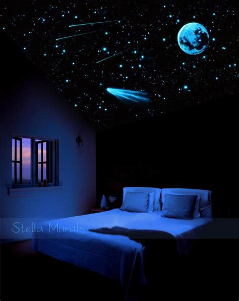 Stunning Outer Space Decorations For Bedroom Idea 10