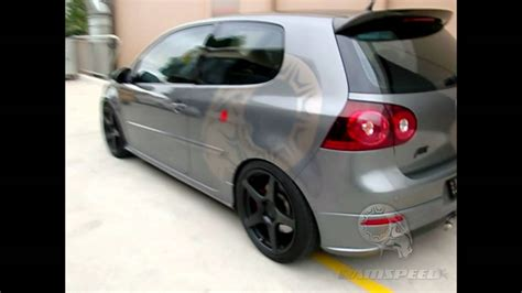vw golf  abt sportsline supercharger kit youtube