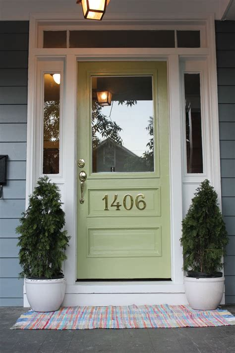 best green paint color for front door 17 best images about interesting home exteriors on four square craftsman and
