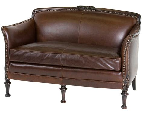 classic settees classic leather ludon settee 2232 leather furniture usa