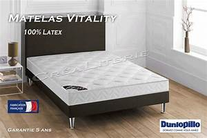 matelas dunlopillo latex maison design wibliacom With chambre design avec matelas latex 160x200 cm dunlopillo grand casino