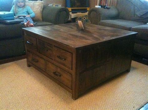 large coffee table  drawers google search