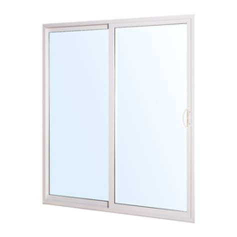 shop reliabilt 300 series 70 75 in clear glass white vinyl