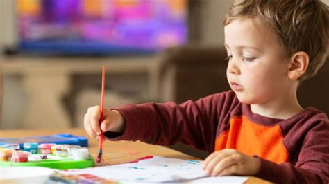 Cómo enseñar a los niños a pintar para relajarse y ...