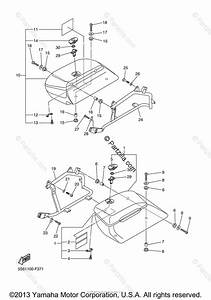 Yamaha Motorcycle 2007 Oem Parts Diagram For Saddlebag