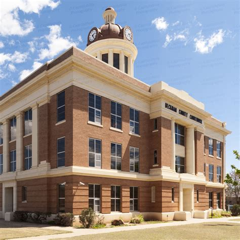 Beckham County Courthouse