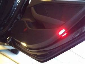 Retrofit Puddle Lights  U0026 Door Warning Lights To 8v