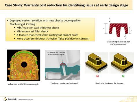 Warranty Cost by Dfmpro For Warranty Cost Reduction Geometric Ltd