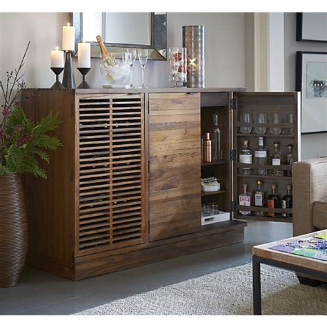 Crate And Barrel Bar Cabinet Marin by Large Cabinets Crate And Barrel And Crates On
