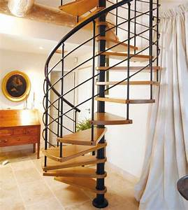 Escalier En Colimaçon : escalier colima on en bois castille escaliers l ~ Mglfilm.com Idées de Décoration