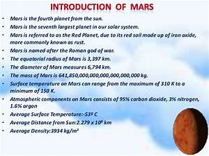 Planet Mars Information and Facts (page 2) - Pics about space