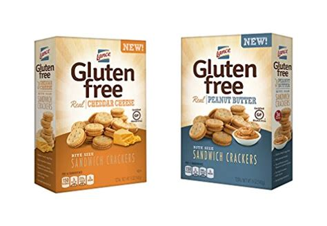 Lance Gluten Free Sandwich Crackers, Peanut Butter And